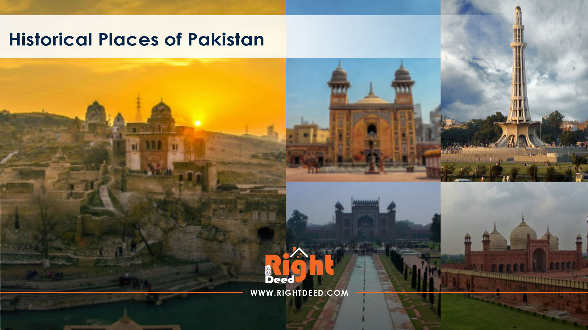 Historical Architecture of Pakistan - Right Deed Blog