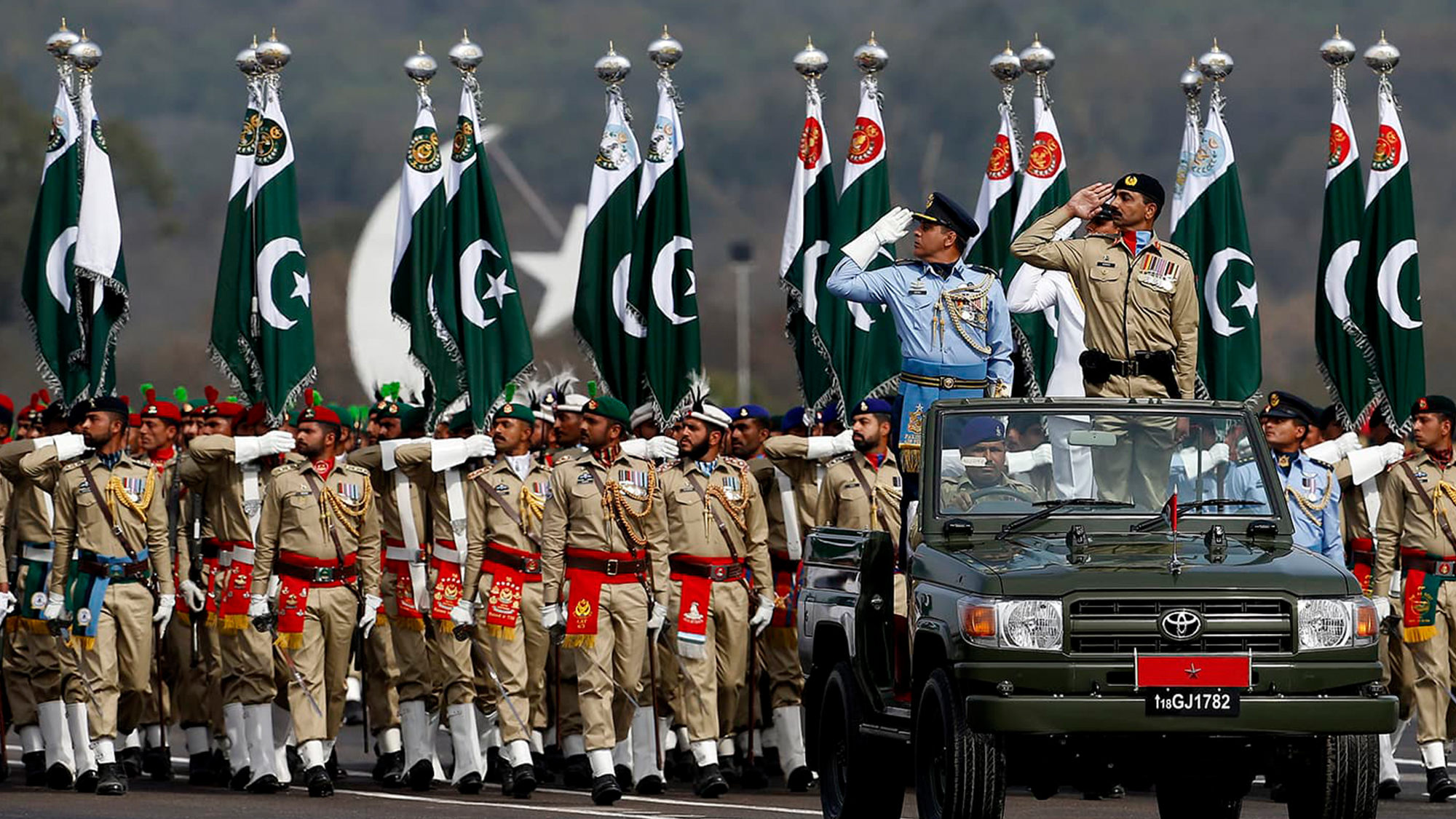 Pakistan has become 20th biggest military spender in 2018