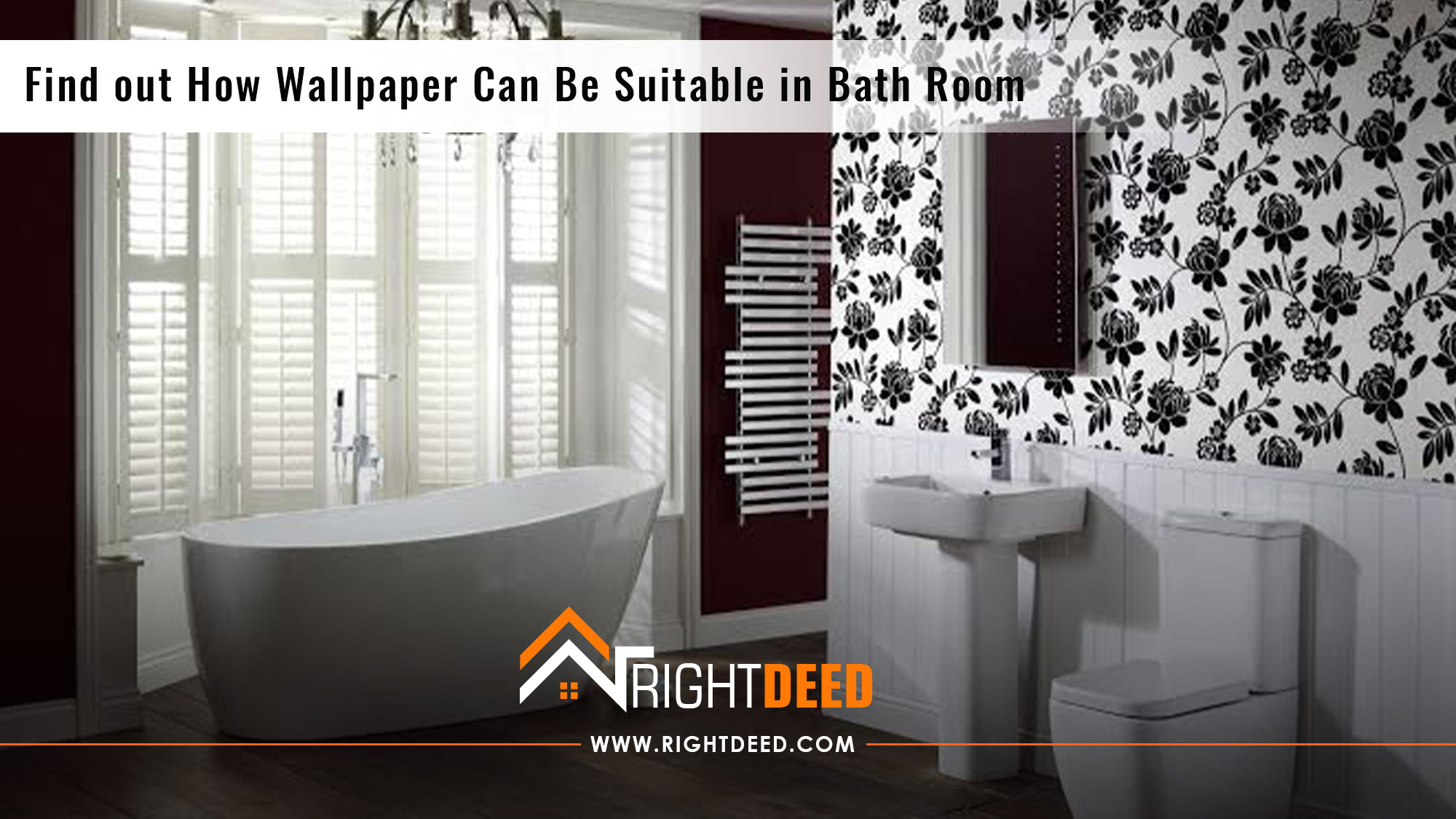 Find Out How Wallpaper Can Be Suitable In Bath Room